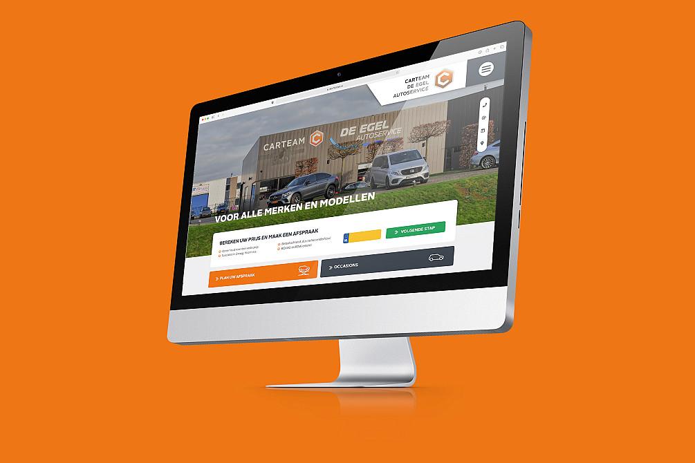 Carteam lanceert nieuwe websites